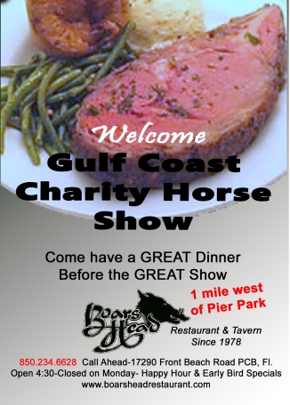 Welcome Charity Horse Festival Gradient psd prime rib