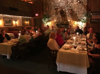 Ballard Family Annual Birthday Party at The Boar's Head Restaurant PCB