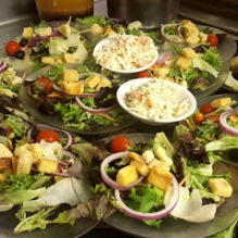 Best Steaks and Seafood House Salads Boars Head restaurant PCB