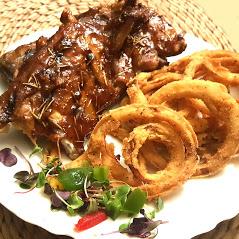 Early Bird Special Baby Back Pork Ribs-The Boar's Head Restaurant PCB