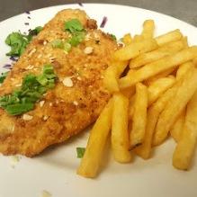 EarlyBird Fried Tilapia Seafood PCB Boars Head Restaurant