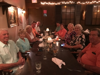 The Hootens and the Genevas. Bday and anniversary party - Boar's Head Restaurant PCB