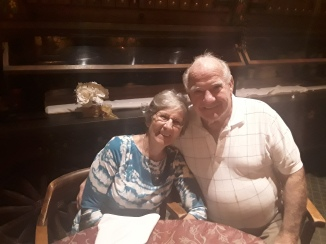 Ray & Celia Celebrating their 62 Anniversary at The Boars Head Restaurant PCB