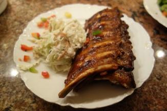 Meaty Baby Back Ribs & Horseradish Coleslaw-Boar's Head Restaurant PCB
