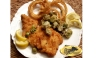 Seafood & ;Fried Okra -Visit Boar's Head Restaurant PCB-